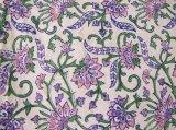 クロス:紫ピンクミドリ花