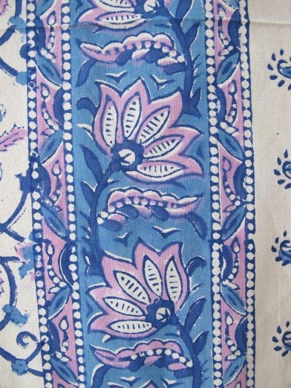画像3: クロス:青ピンク花