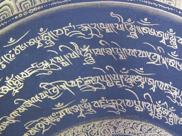 画像3: 手描きタンカ:マントラ 曼荼羅