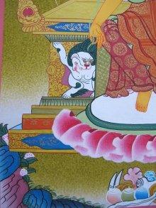 他の写真2: 手描きタンカ:マイトレーヤ(弥勒菩薩)