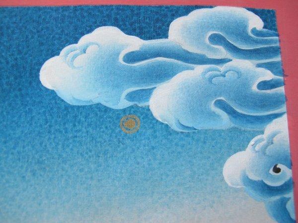 画像4: 手描きタンカ:マイトレーヤ(弥勒菩薩)