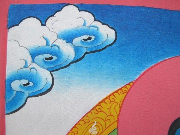 画像5: 手描きタンカ:薬師如来