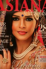 SALE!インドのウェディング雑誌  ASIANA VOL.9 ISSUE1 2015