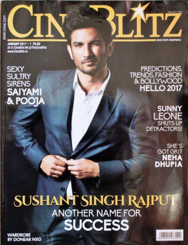 画像1: インドの映画雑誌 CINEBLITZ Jan 2017