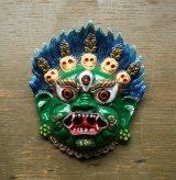 ネパールバイラブ壁掛け緑 定形外郵便OK