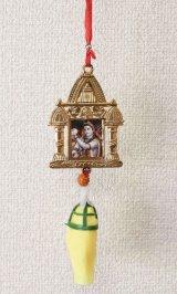 インド 神様車飾りゴールドシヴァ <郵送OK>