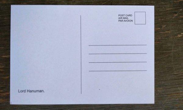画像2: 神様ポストカード:ハヌマーン 郵送OK