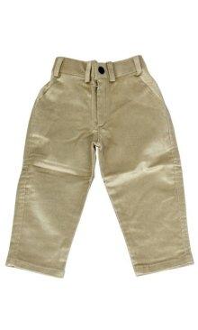 他の写真3: 子供用 クルタパジャマ スーツ 90サイズ相当(インド表記0):ブルー&ベージュ