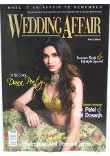 インドのウェディング雑誌  WEDDING AFFAIR VOL.20 Issue6 2019