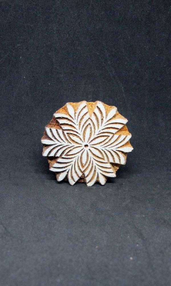 画像1: インド木版