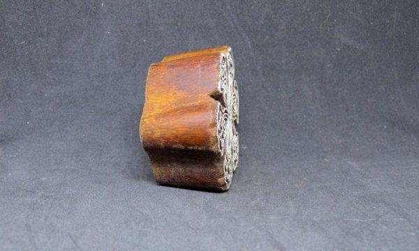 画像4: インド木版 フラワー<郵送OK>