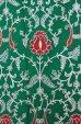 画像4: カシミール刺繍 ストール:グリーン (4)