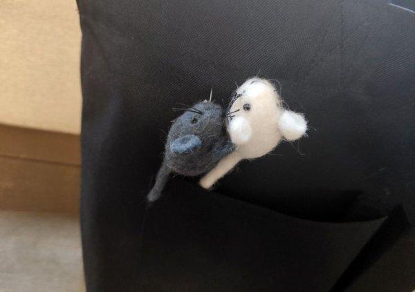 画像5: ネズミブローチ