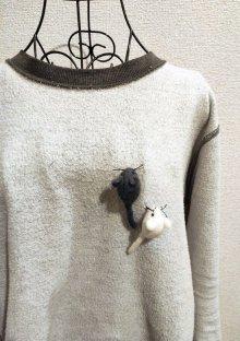 他の写真2: ネズミブローチ