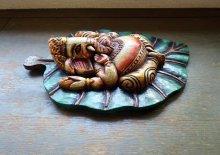 他の写真3: ガネーシャ菩提樹壁飾り