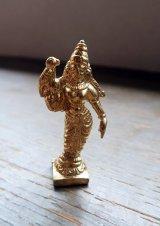 ミーナクシーのミニ真鍮像