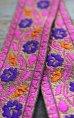 画像9: インディアンリボンレース:花 各グリーン、パッションピンク、グレー、ピンク、ネイビー
