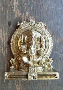 他の写真1: レジンのヒンズー神<ガネーシャ像>