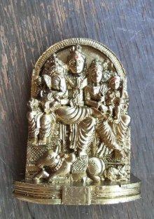 他の写真1: レジンのヒンズー神<シヴァファミリー像>