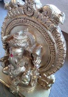 他の写真2: レジンのヒンズー神<ガネーシャ像>