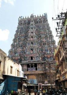 他の写真2: インド ヒンズー神フレーム ミーナクシー寺院