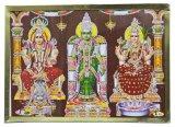 インド ヒンズー神フレーム 南インドの女神
