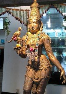 他の写真1: インド ヒンズー神フレーム ミーナクシー寺院
