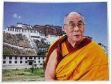 神様 ポスター カード :ダライ・ラマ14世 c