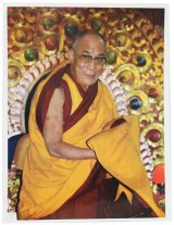 神様 ポスター カード :ダライ・ラマ14世 a