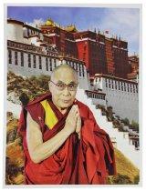 神様 ポスター カード :ダライ・ラマ14世 b